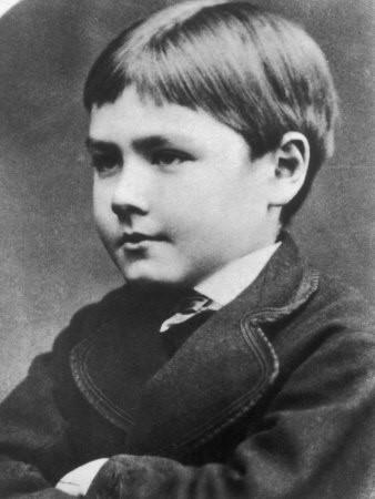 Young Rudyard Kipling
