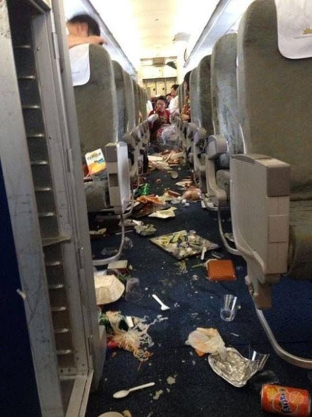 Chuyến bay cận tết của VN Airlines Sàigòn-Hànội