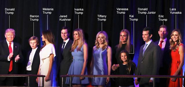 Trump's family.